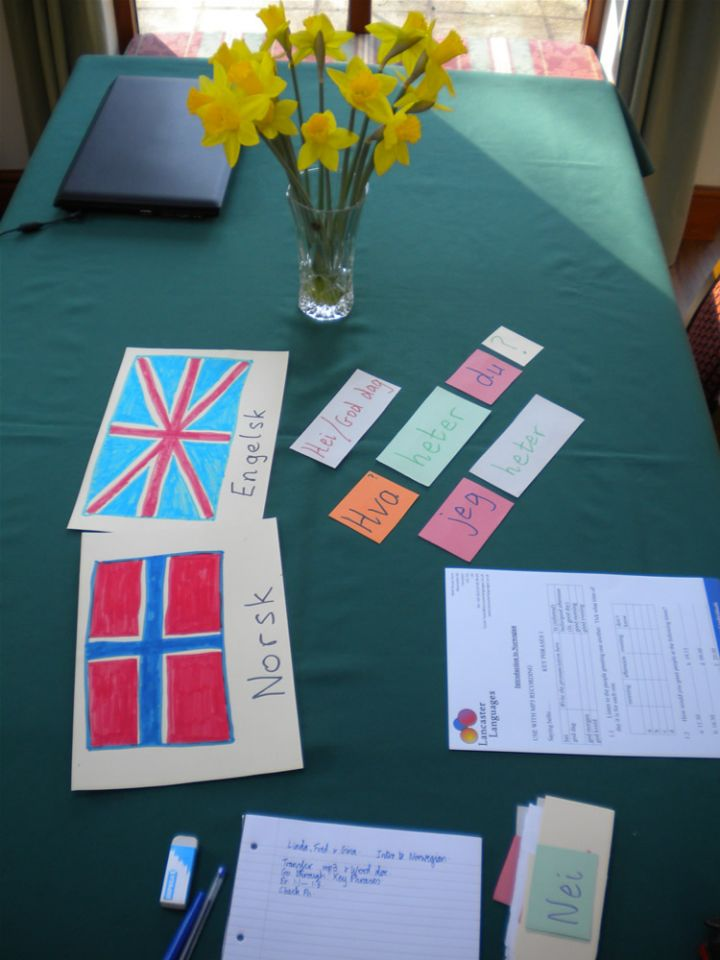 Foreign Language Lessions at Lancaster Languages